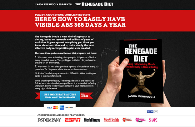 صفحه -the-renegade-diet